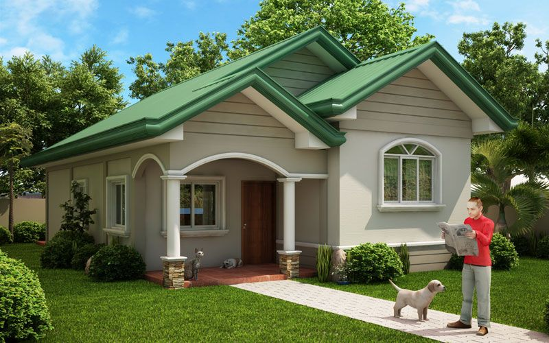 Single story pinoy house plan floor area 90 square meters ...