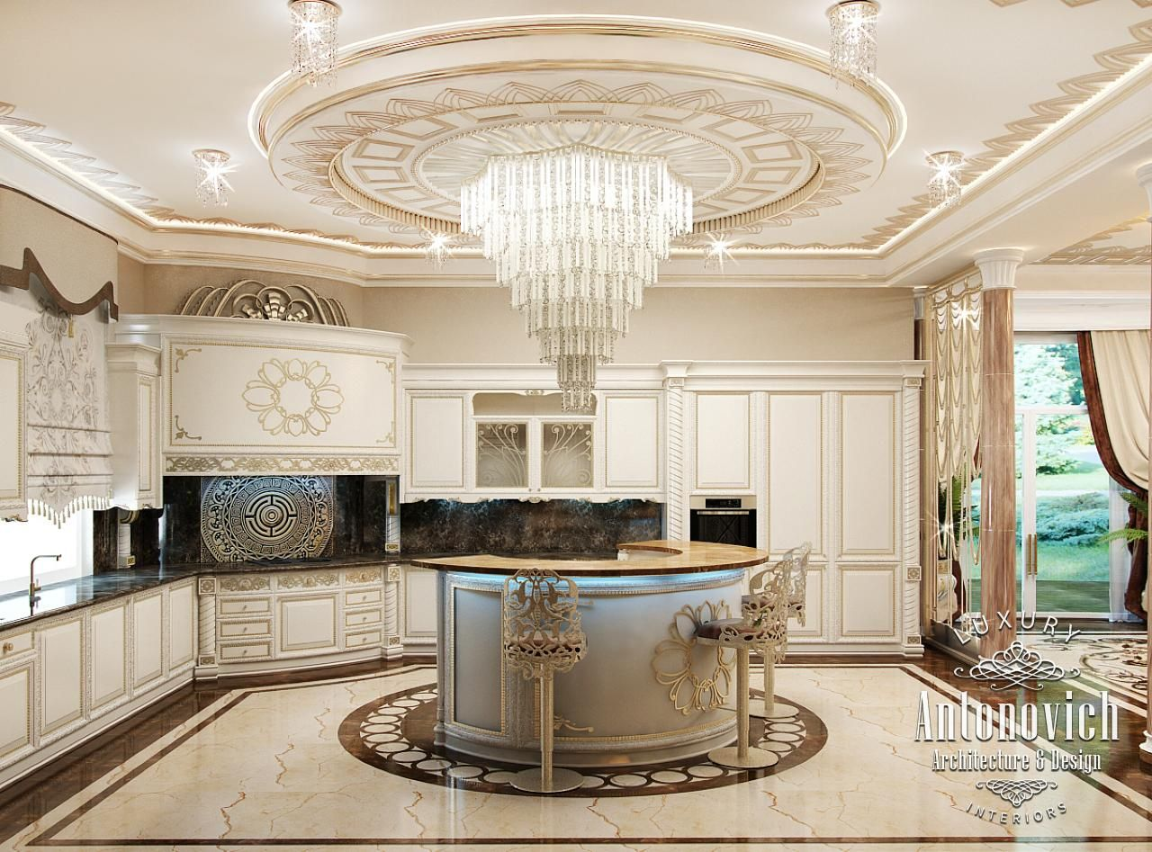 Kitchen design in dubai luxury kitchen dining photo 6 for Kitchen designs dubai