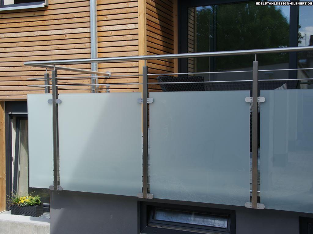 pin von stefanie barth auf balkon balkongel nder balkongel nder edelstahl und balkon. Black Bedroom Furniture Sets. Home Design Ideas