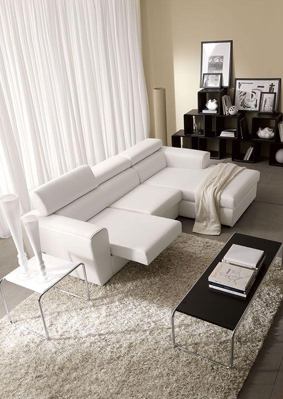 Poggiatesta relax e seduta estraibile per il massimo confort ...