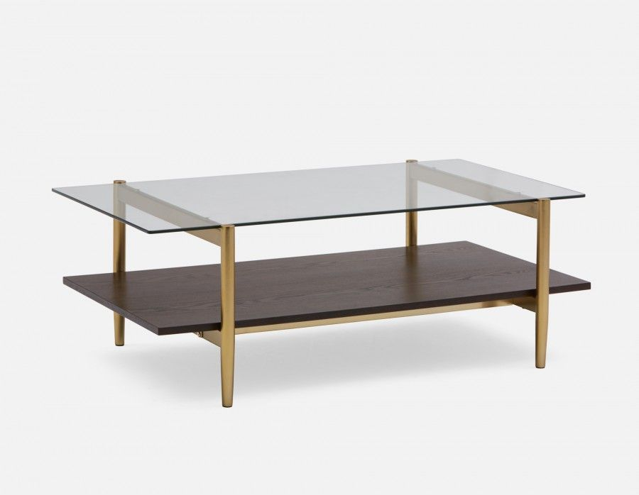 Arlo Coffee Table Almond Minimalist Coffee Table Wood