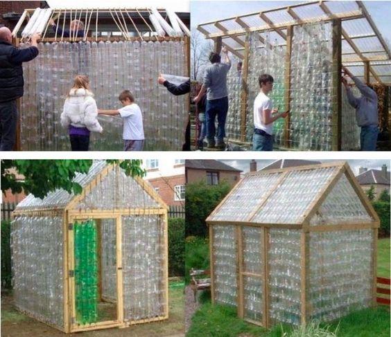 avoir une serre dans son jardin trop facile avec des. Black Bedroom Furniture Sets. Home Design Ideas