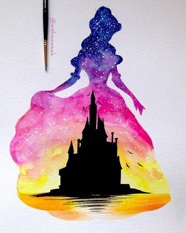 These Silhouette Paintings Of Disney Moments Are Absolutely