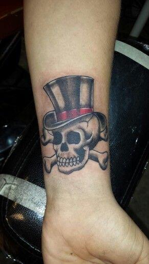 Skulls With Top Hat Tattoos : skulls, tattoos, Tattoos, Olivia, Alden