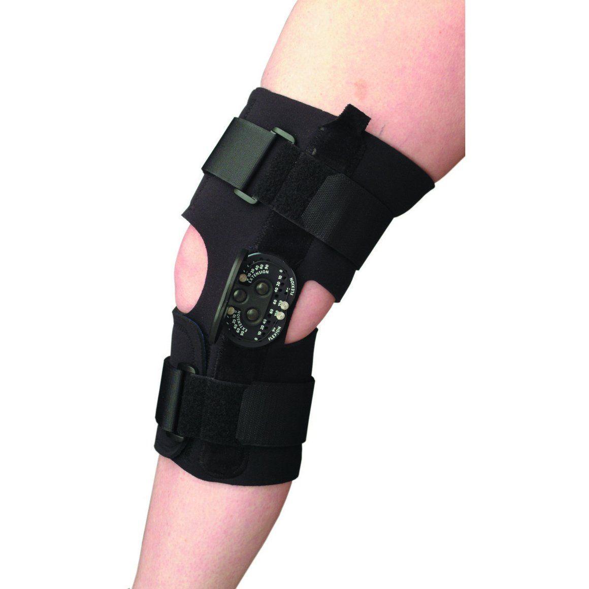 KARE MULTIWRAP ROM KNEE BRACE Knee brace, Braces, Knee