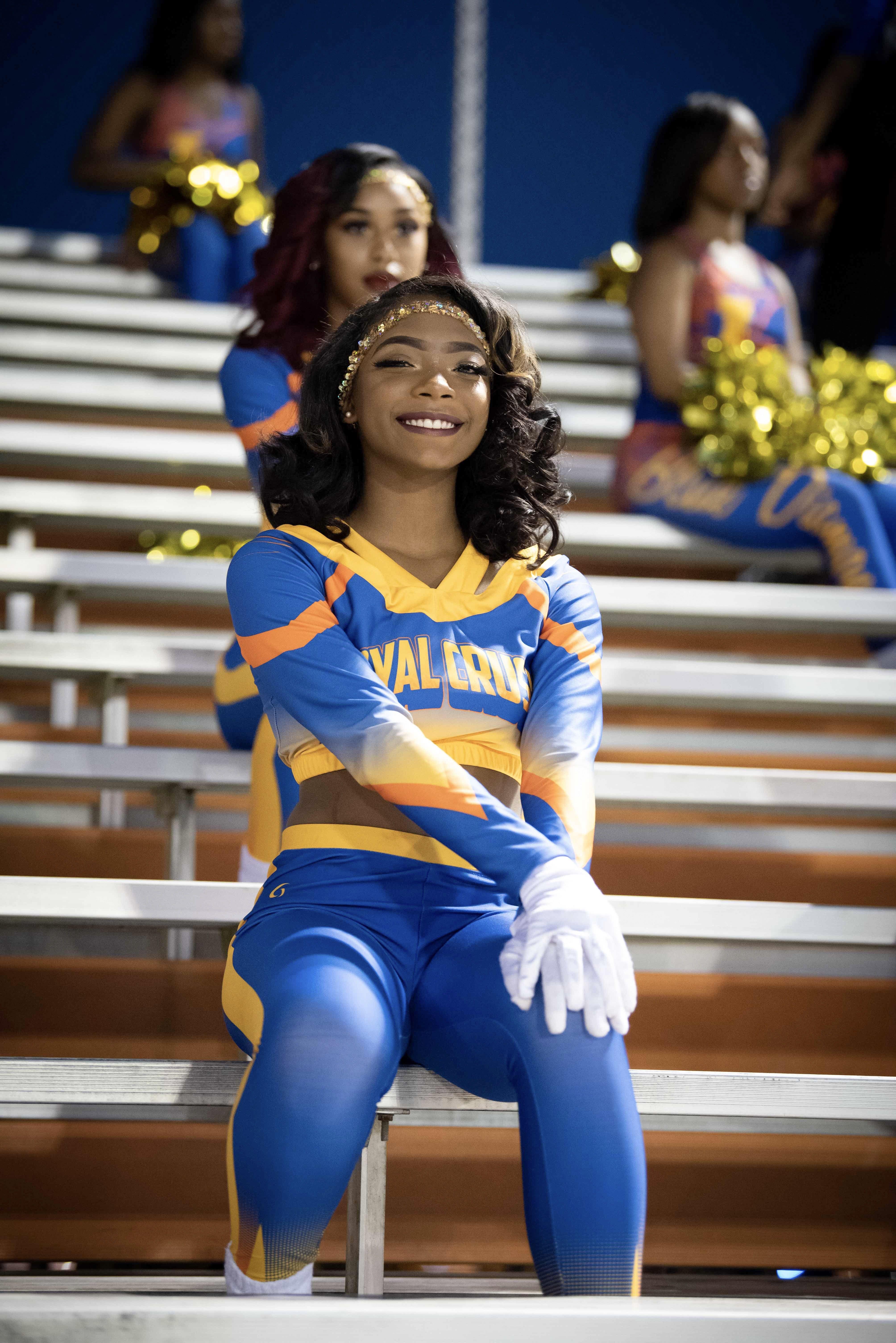 LandryWalker Royal Crush Cheerleading outfits, Dance