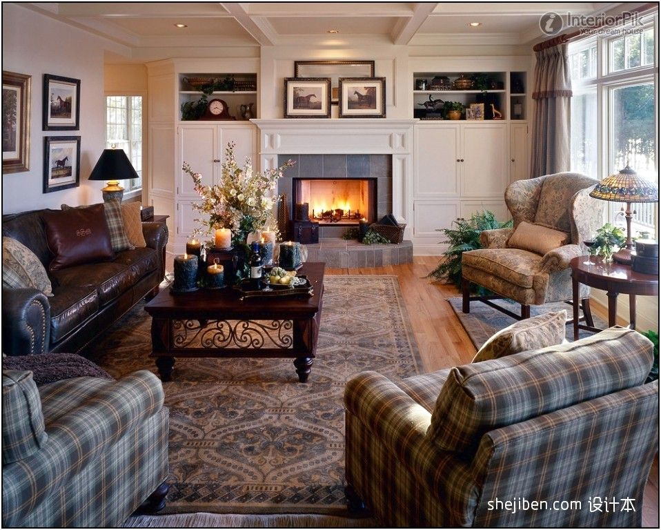 country home decorating ideas living room \