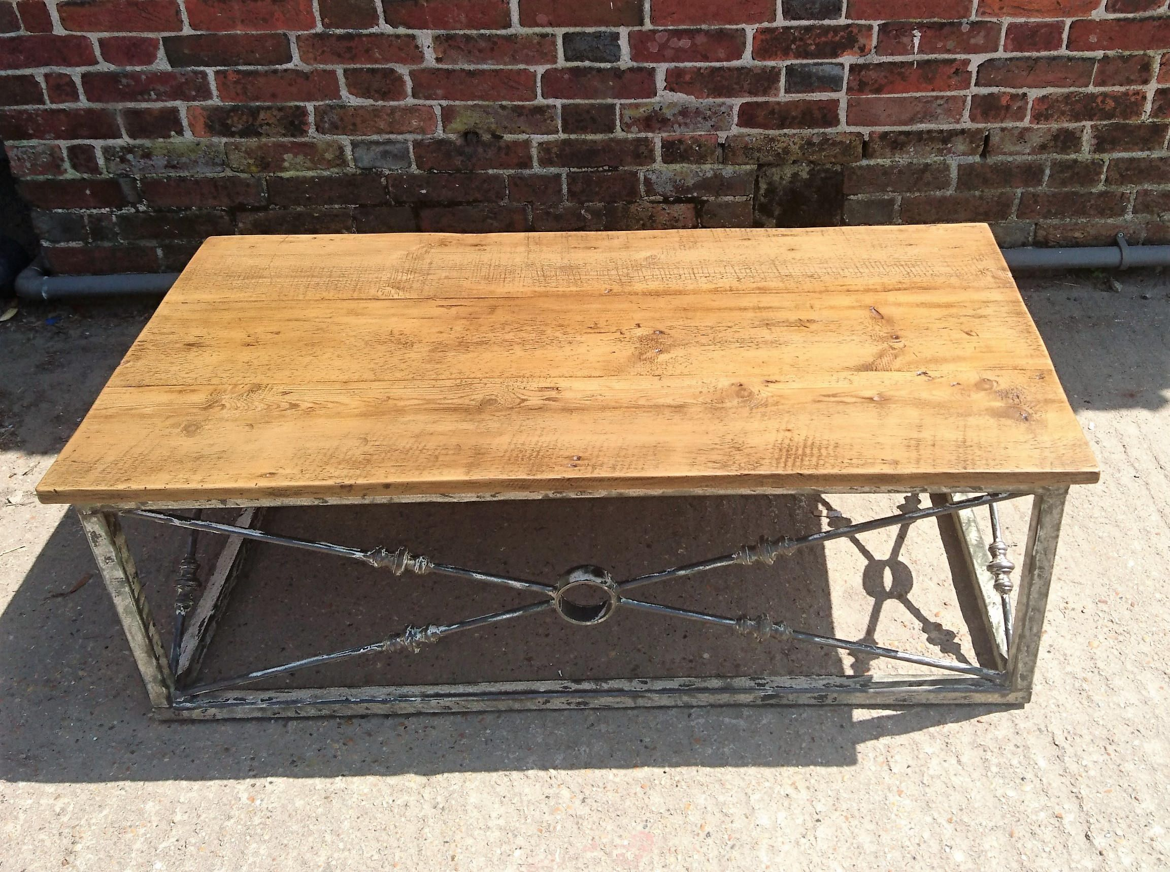 Coffee Anyone Beautiful Options On Our Etsy Distressed Metal Table Http