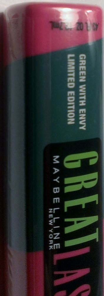 39a411336fe Maybelline Great Lash Colored Mascara GREEN WITH ENVY LIMITED EDITION