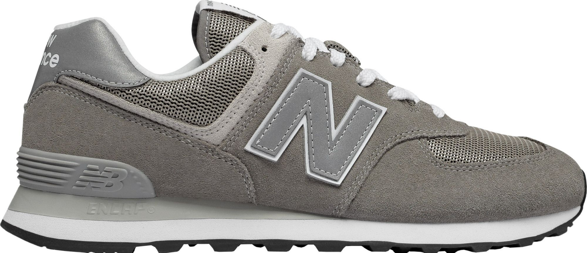 New Balance Men's 574 Shoes | New balance grey shoes, New ...