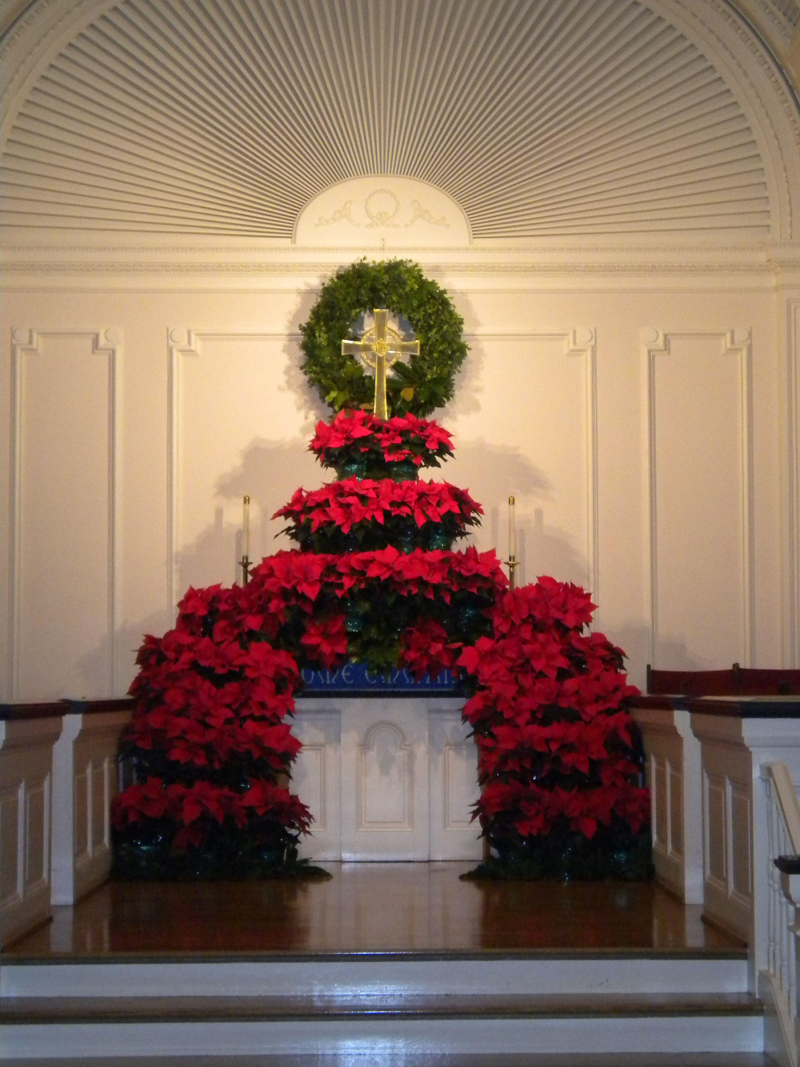 Christmas Flower Decorations For Church   Psoriasisguru.com