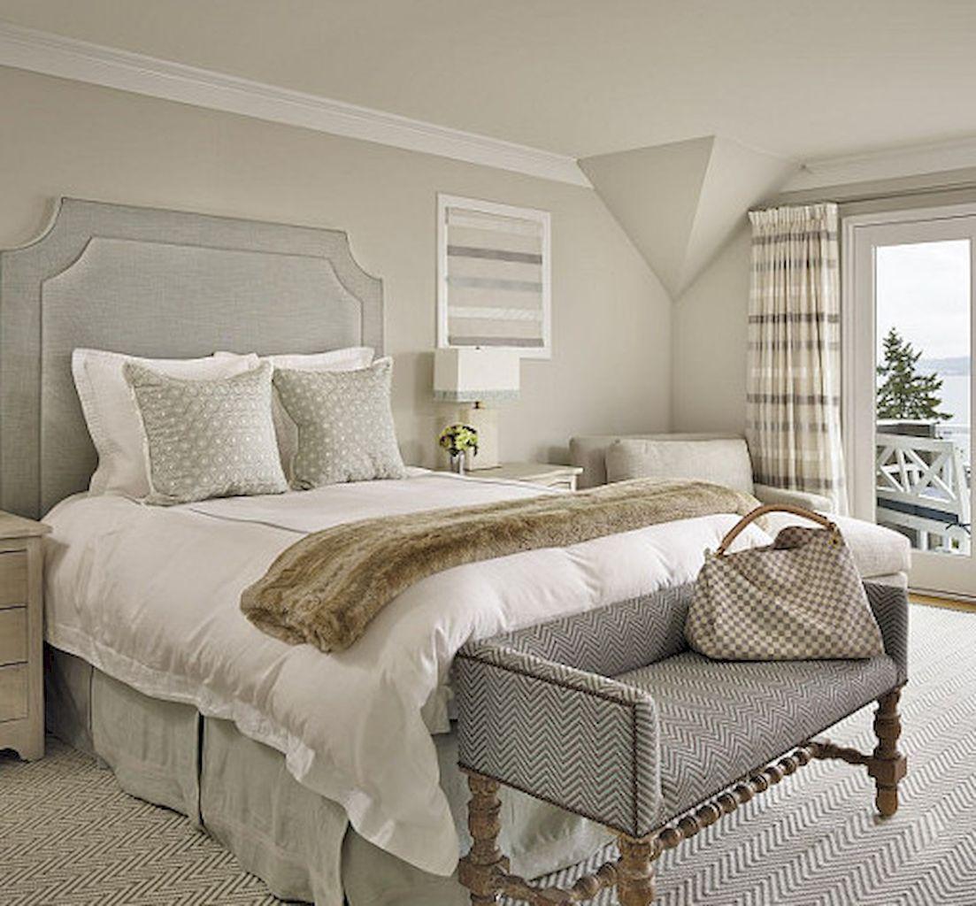 80 Beautiful Neutral Master Bedroom Designs   Bedroom paint colors master