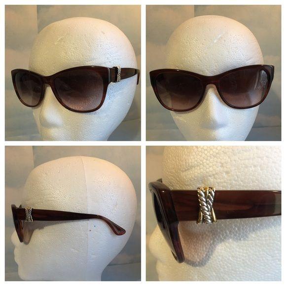 New David Yurman Sunglasses BRAND NEW AUTHENTIC DAVID YURMAN VERMIL BRIWN PLASTIC SUNGLASSES.COMES WITH ORIGINAL CASE. David Yurman Accessories Sunglasses