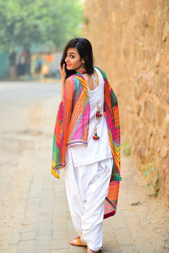 01cac24e450c This Holi add that filmy touch to your Holi celebrations! It's gulaal in  the air, step out in this season of colour and joy in a classic crisp white  kurta ...