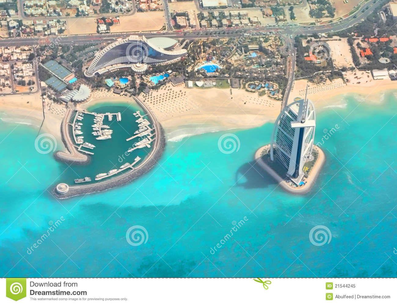 jumeirah hotel burj al arab map