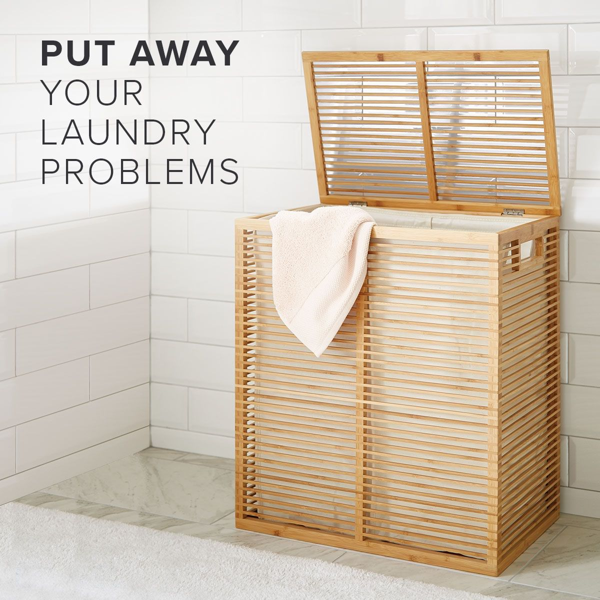 Laundry Baskets And Laundry Bags Help Make Light Work Of Sorting