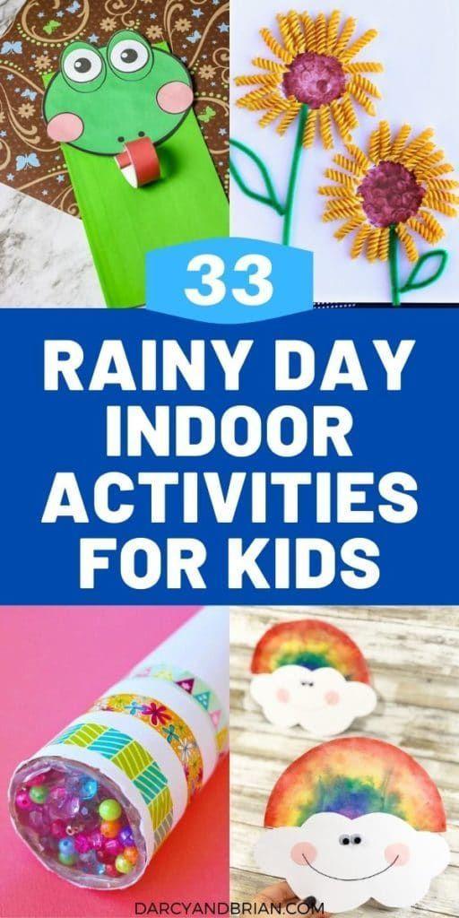 Photo of 33 Indoor Activities For Kids On Rainy Days | Indoor activities for kids, Indoor activities, Boredom