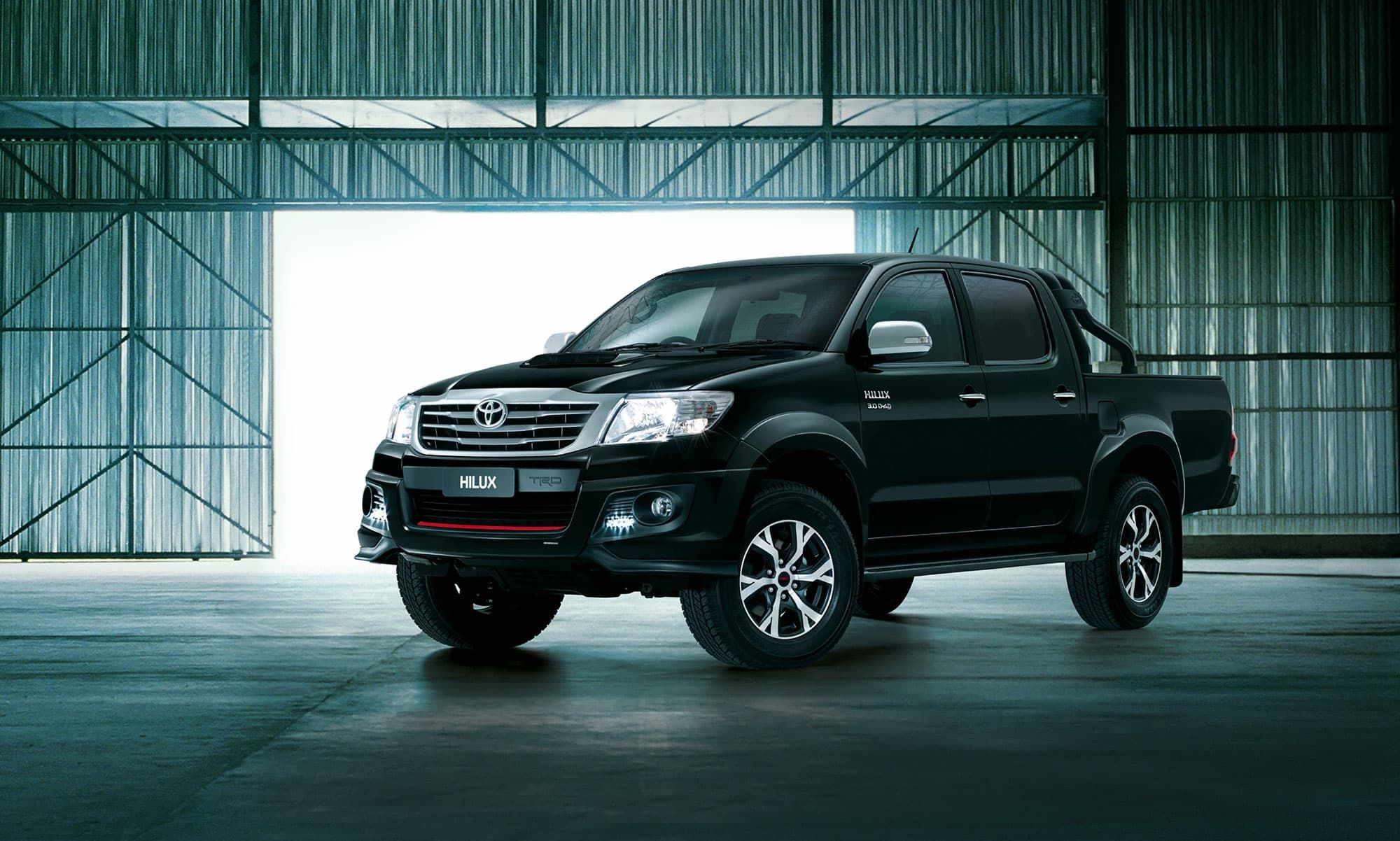 black toyota hilux hd wallpapers