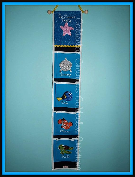 4 Pocket Fish Extenders for Disney Cruises by GoldeeloxCreations