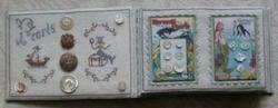 button box w button book - interior page w pearls (3 of 3)