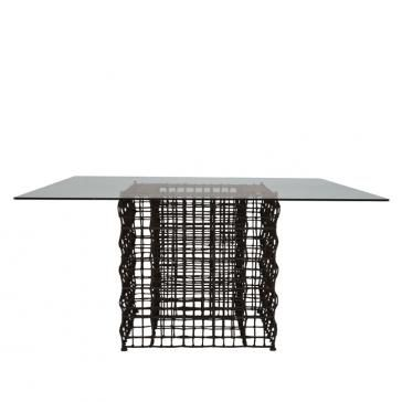 Yin and Yang Square Dining by JANUS et Cie. Please contact Avondale Design Studio for more information on any of the products we feature on Pinterest.