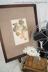 {Ella Claire}: A Knock Off Pottery Barn Frame and Mat
