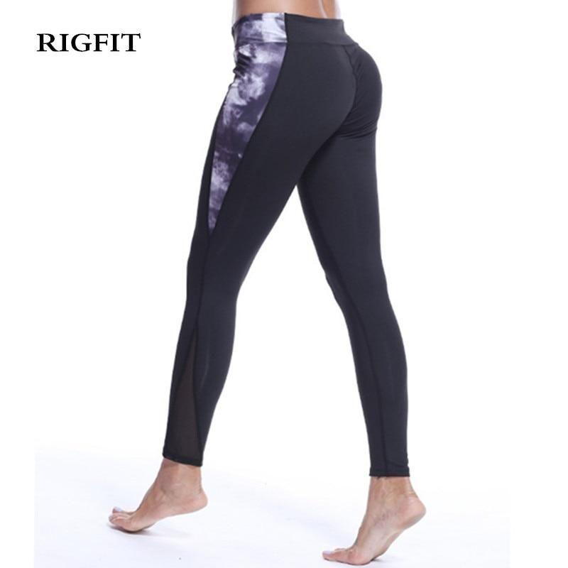 728fbda401 Euro-American hip printing Yoga Pants Ankle Length Pants, Sport Wear,  Elastic Waist