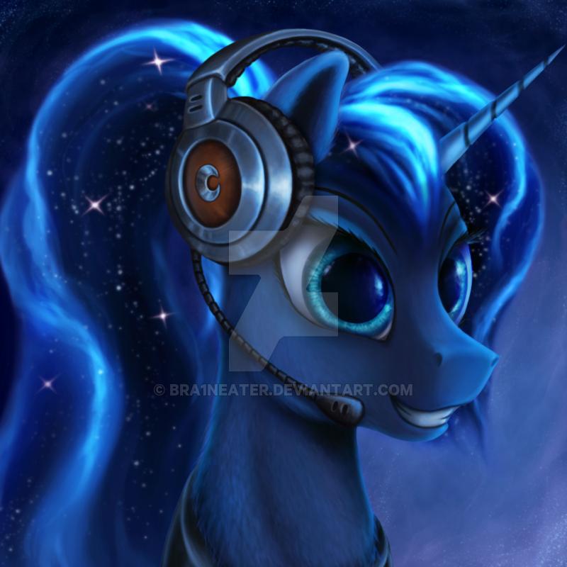 Gamer Luna by Bra1nEater.deviantart.com on @DeviantArt ...