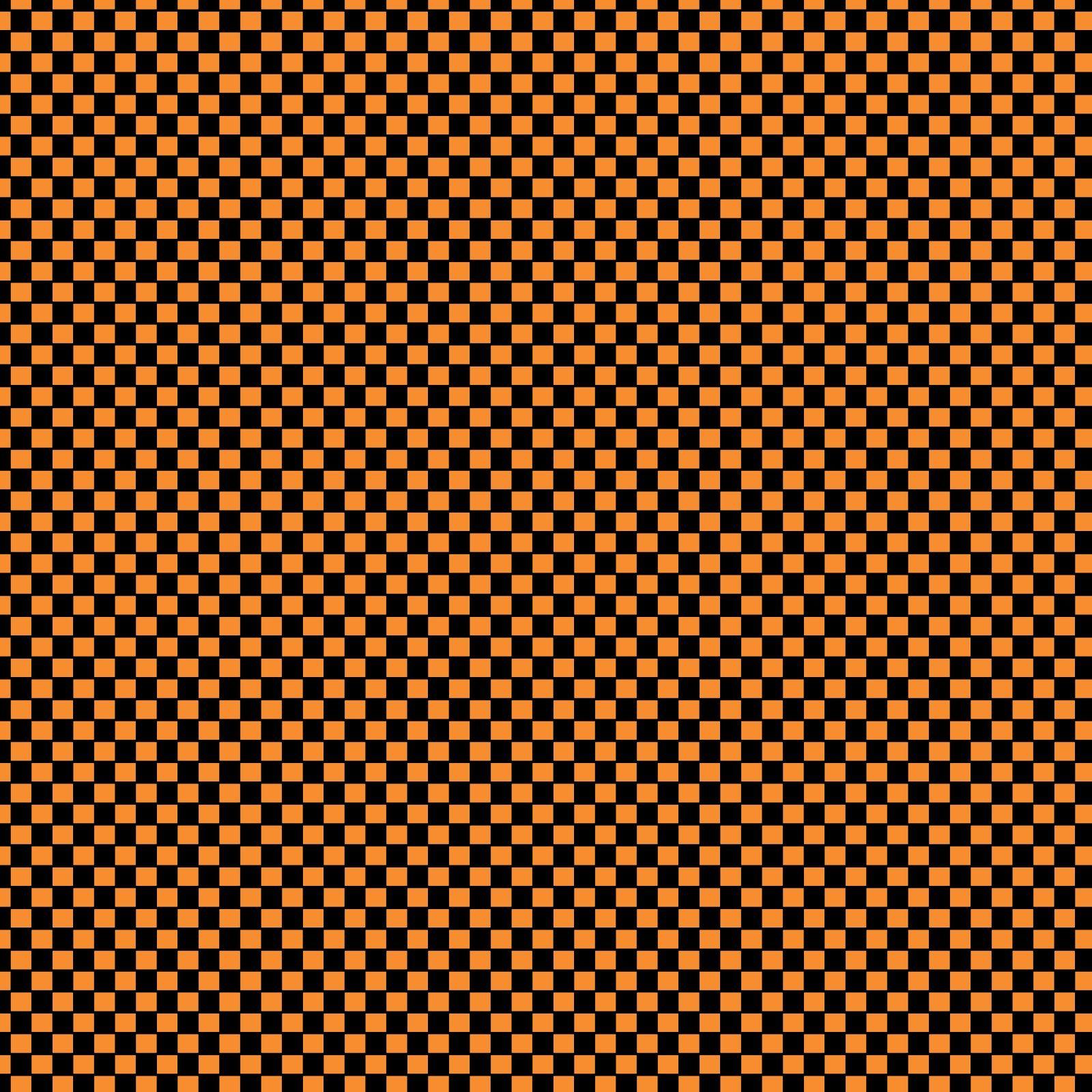 free+digital+scrapbook+paper_orange+and+black+checkerboard
