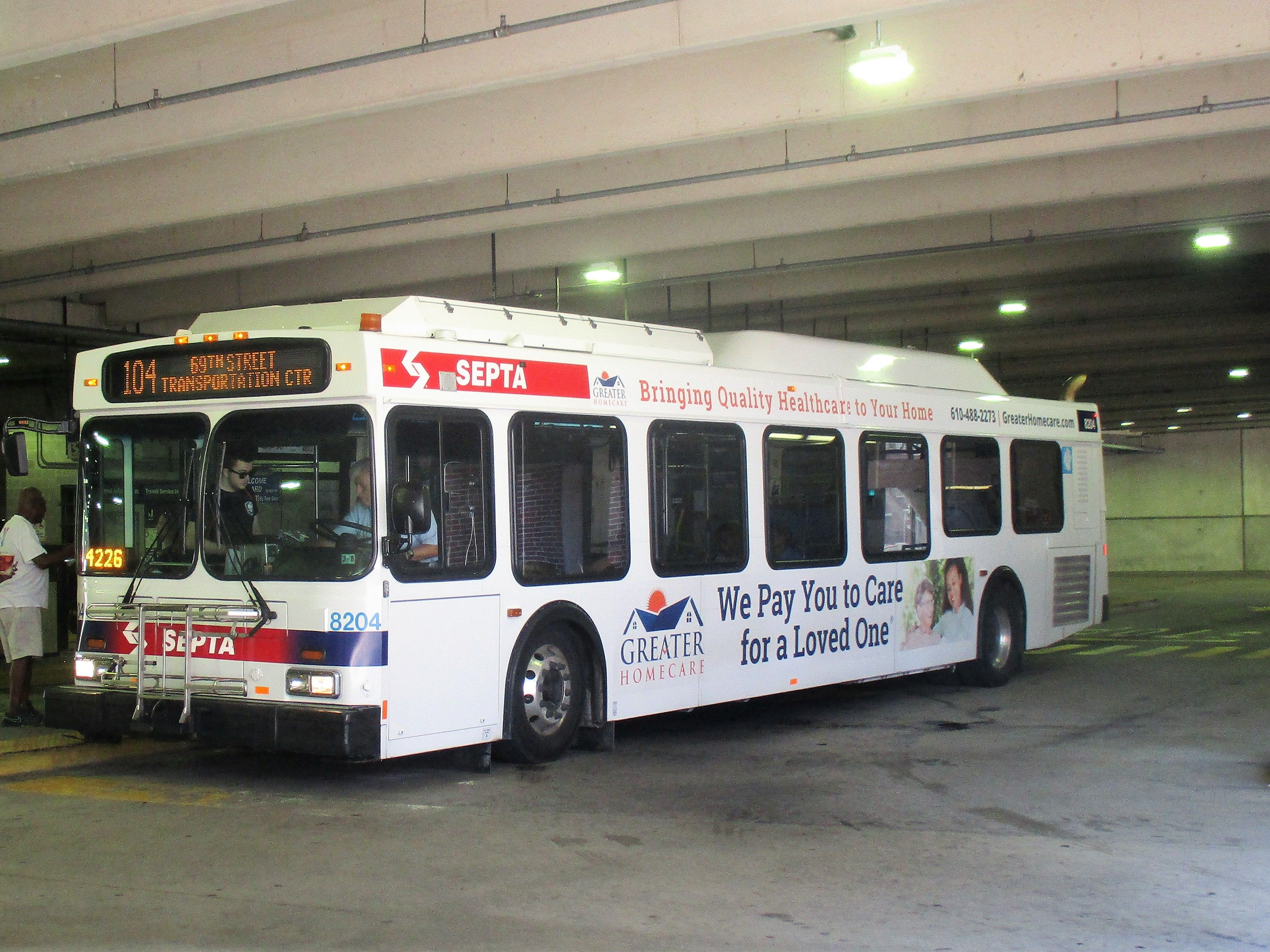 Septa New Flyer De41lf At West Chester Transportation Center New Flyer Bus Terminal Transportation