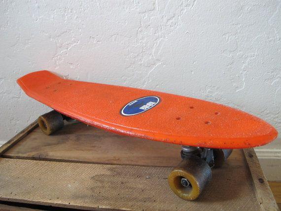 Vintage Plastic Skateboard