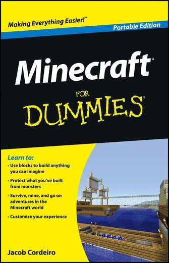 Minecraft For Dummies - Jacob Cordeiro   Programming  597220917: Minecraft For Dummies - Jacob Cordeiro   Programming… #Programming