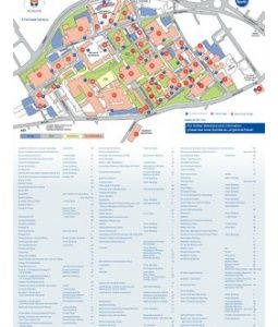 University of Dundee Campus Map | CWU\'s Exchanges | Campus map, Map ...