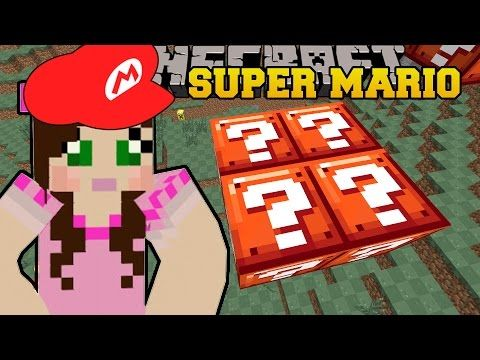 Minecraft: WORLD OF SECRET BLOCKS! - SUPER MARIO BROS - Custom Map [7] - YouTube