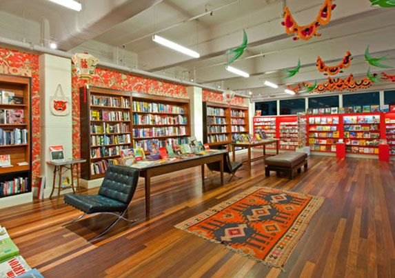 Metropolis Bookshop In Melbournes Curtain House