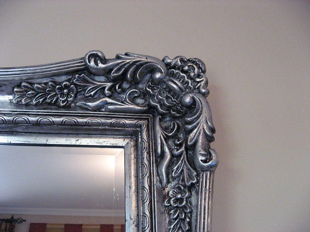 Manualidades con pan de plata buscar con google arte espejos muebles de metal y espejos - Muebles pintados en plata ...