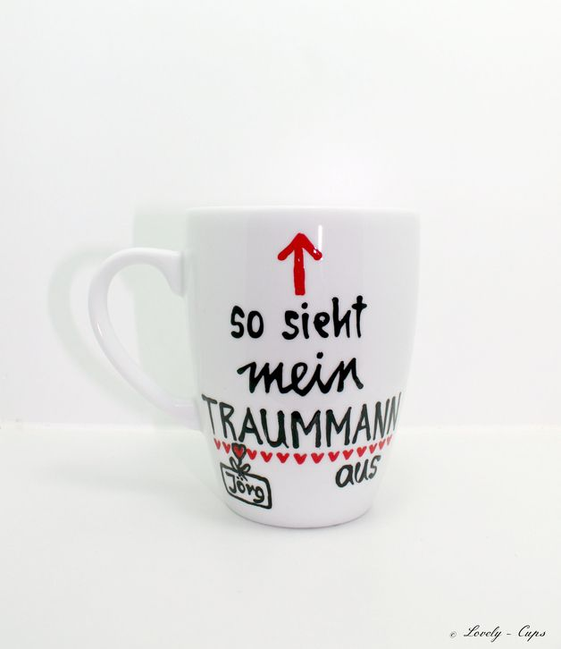 weiteres valentinstag geschenk valentinstag traummann tasse ein designerst ck von lovely. Black Bedroom Furniture Sets. Home Design Ideas