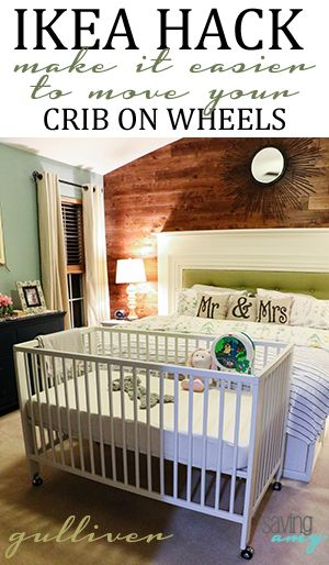 Ikea Hack Gulliver Crib On Wheels Spjalsang Bebis