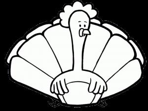 Free Download 999+ Turkey Clipart Black And White | Turkey ...