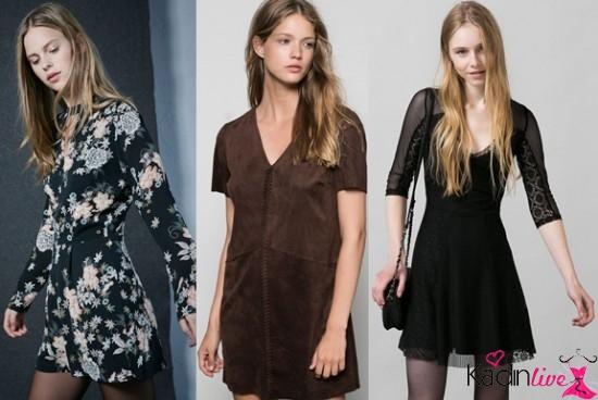 Ilkbahar Yaz Bershka Elbise Modelleri 2018 2019 Elbise Modelleri Moda Stilleri Elbise