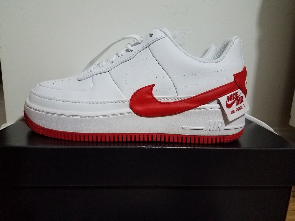 Nike W AF1 Jester XX WhiteUniversity Red Classic Air Force
