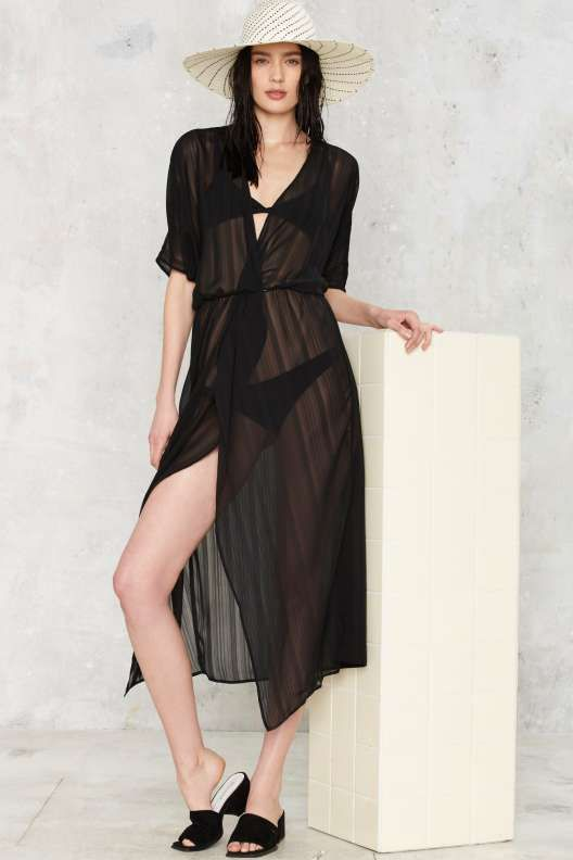 Beachwood Sheer Cover-Up
