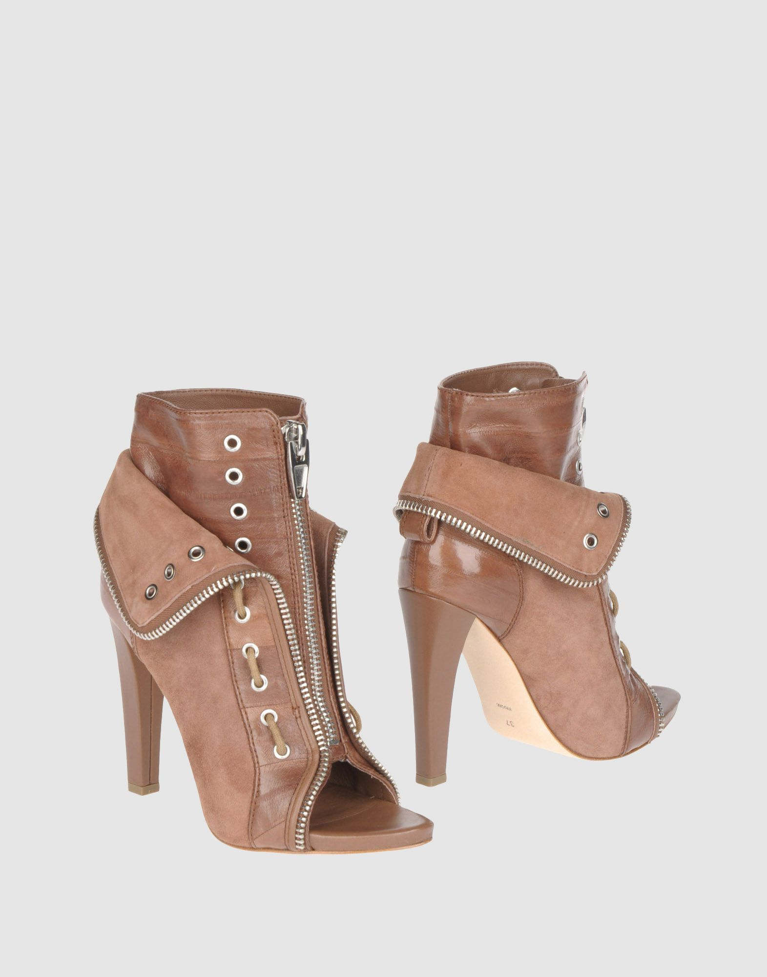 ALEXANDER WANG, Ankle boots Brown ankle boots, Boots