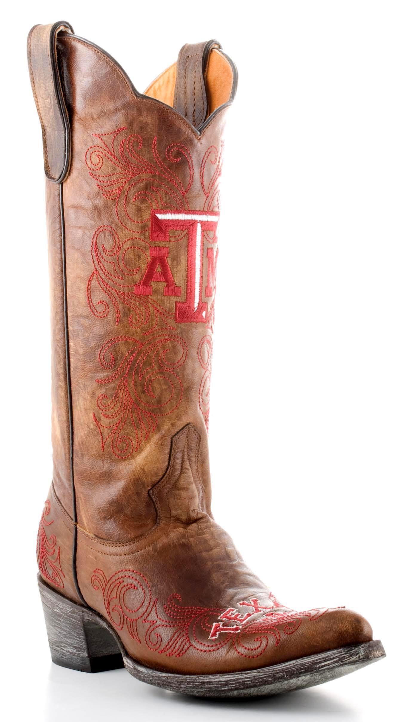 3ed530ab7dd For my sister...Womens Aggies Boots. Love these. So cool. Saw them ...