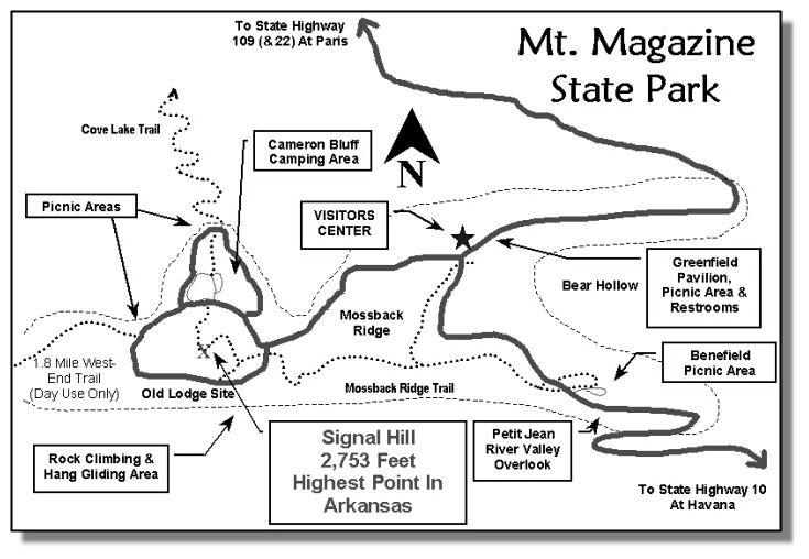 Mt Magazine Hiking Arkansas Camping Hiking Magazine