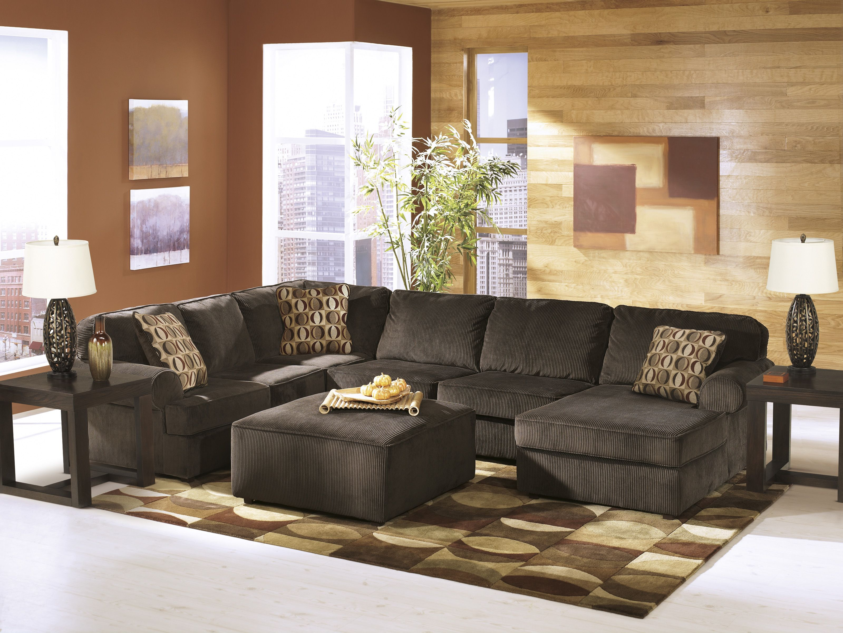The Chaise Lounge And Sofa Can Be Ordered On Either Side Of The Sectional Ashley Furniture Sectional Living Room Sets Ashley Furniture Living Room