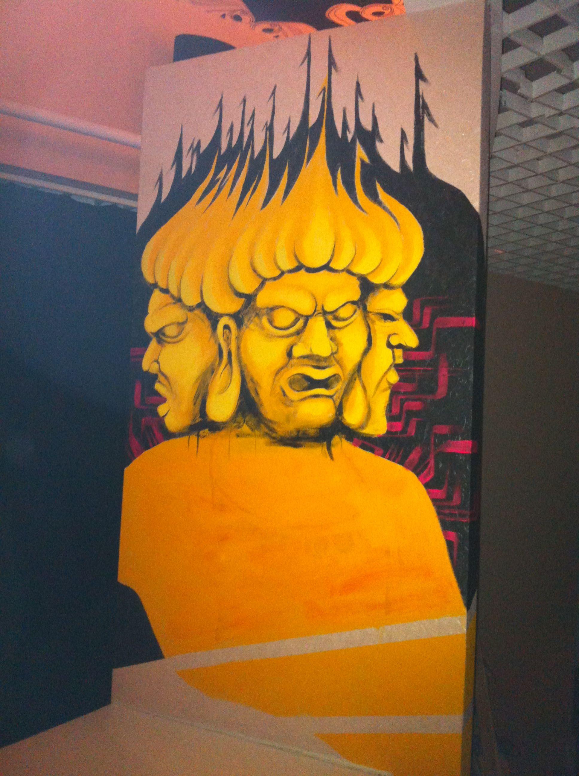 [Bar I's]artworks in shanghai.