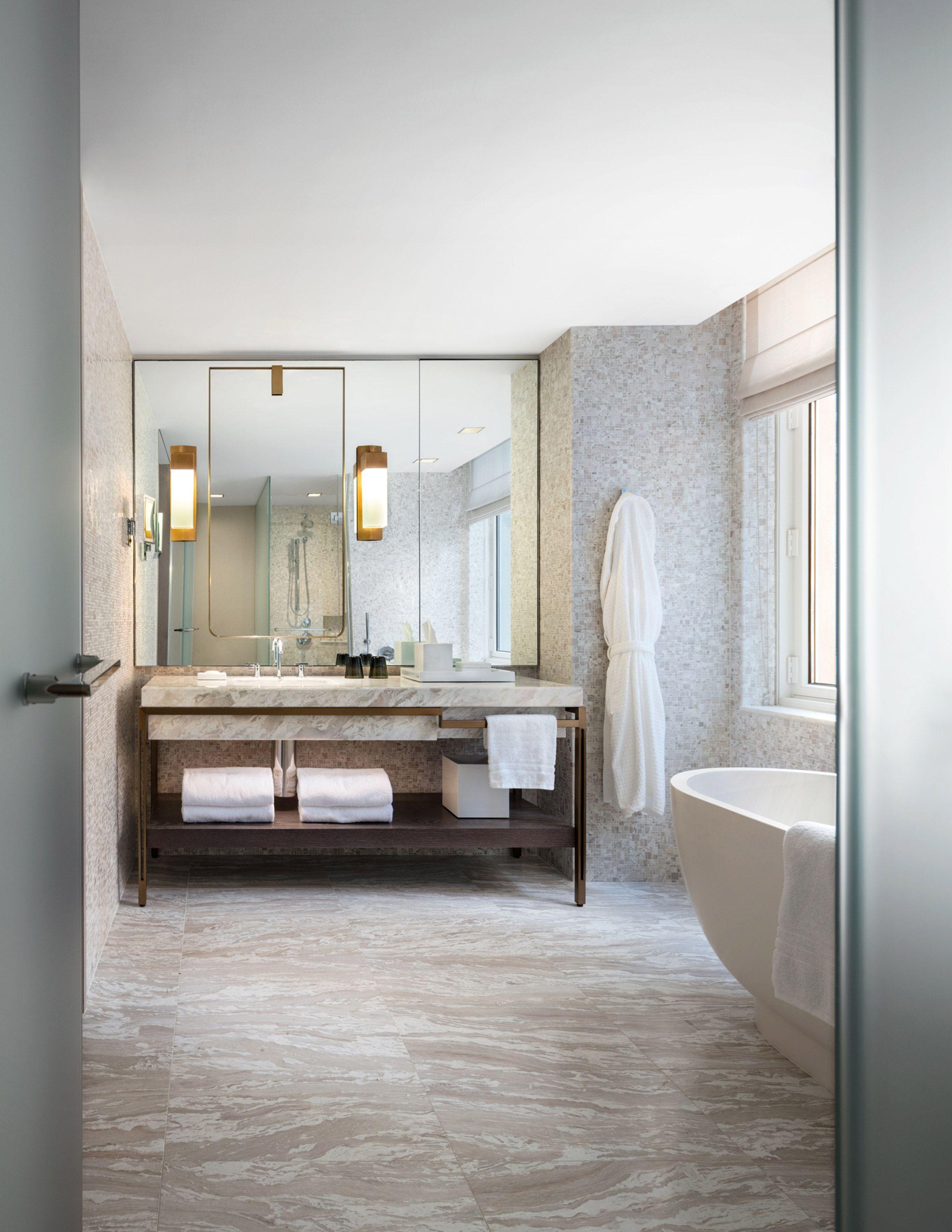 Four Seasons Downtown by Yabu Pushelberg | Bathroom Designs ...