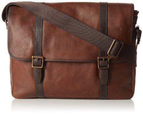 Fossil Estate Ew Messenger Bag Dark Brown One Size Http