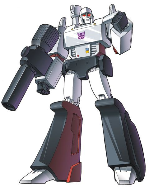 Megatron waged a battle to destroy the evil forces of the Senate! Then he continued to wage a war against the evil forces of freedom organic life and the very idea